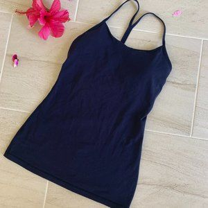 Lululemon  deep purple Y tank